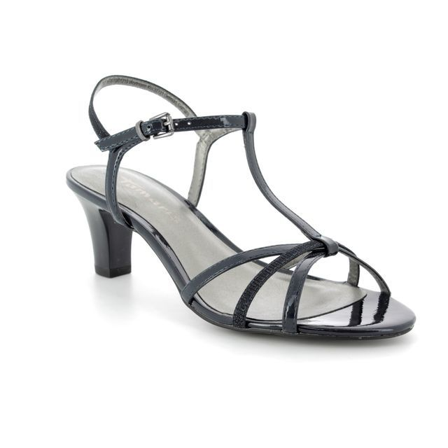 Tamaris Heeled Sandals - Navy patent - 28329/20/797 AUREA
