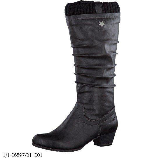 Tamaris Avens 26597-001 Black long boots