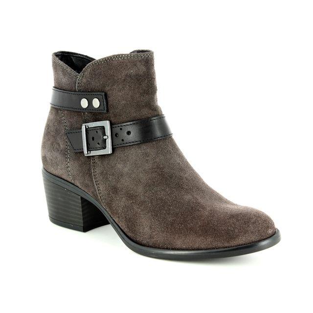 Tamaris Ankle Boots - Grey Suede - 25010/21/247 BECKA  85