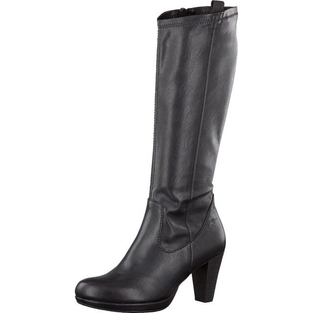 Tamaris Betula 25530-001 Black knee-high boots
