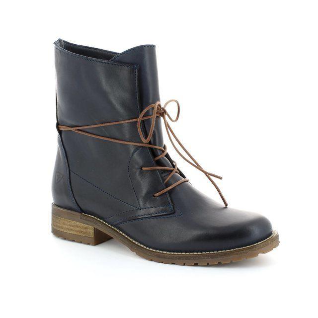 Tamaris Brit 25262-805 Navy ankle boots
