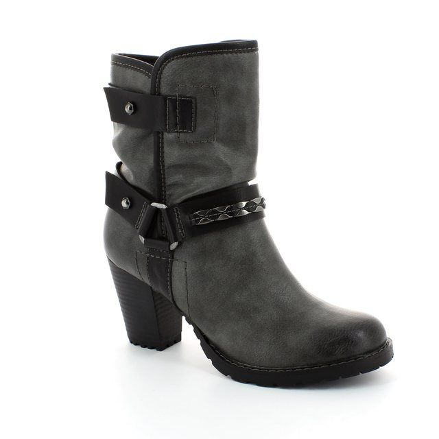Tamaris Ankle Boots - Dark grey multi - 25445/223 CANESALAPINO