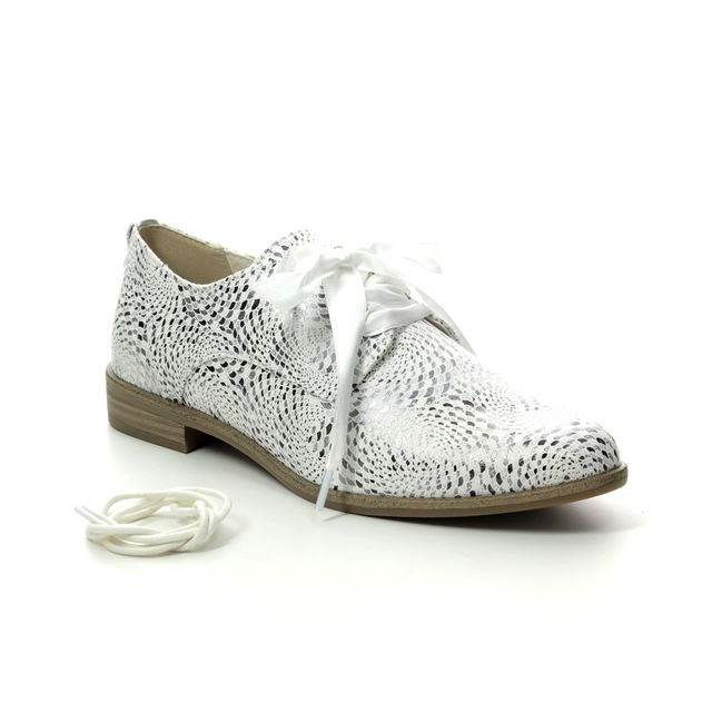 Tamaris Brogues - White multi - 23210/22/121 CARAWAY
