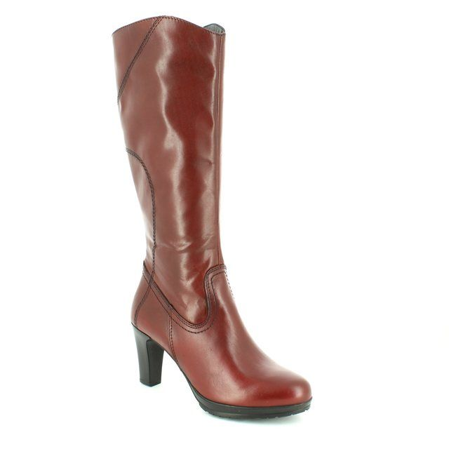 Tamaris Knee-high Boots - Wine - 25547/549 CARMEN
