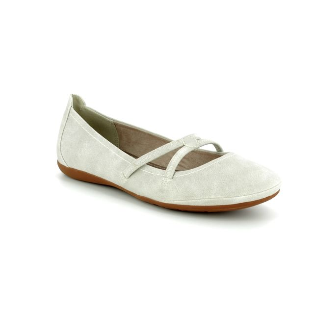 Tamaris Mary Jane Shoes - Light grey - 22110/20/201 CATARIS 81