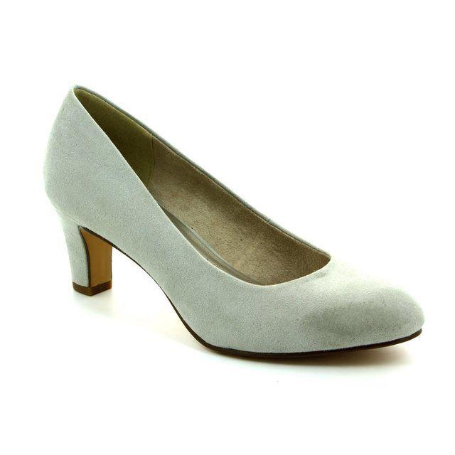 Tamaris Caxia 22454-227 Light grey high-heeled shoes