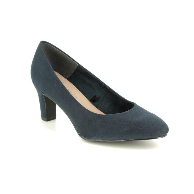 Tamaris Heeled Shoes - Navy - 22418/24/805 CAXIAS 01