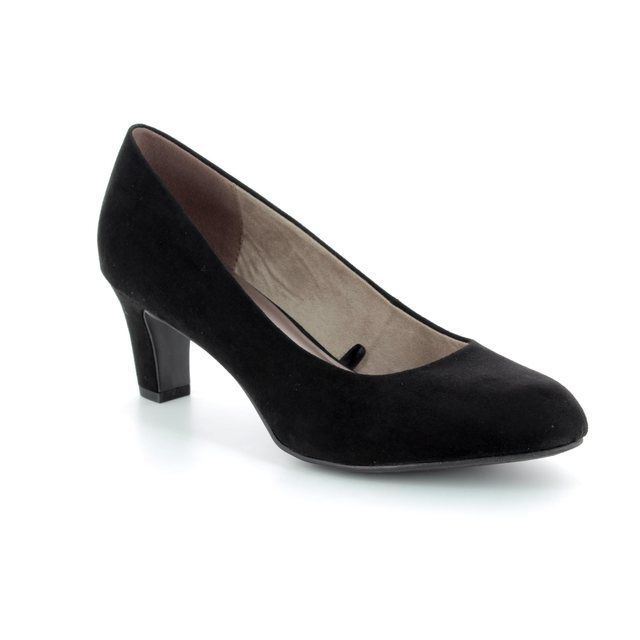 Tamaris High-heeled Shoes - Black - 22418/20/001 CAXIAS 81