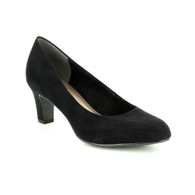 Tamaris Heeled Shoes - Black - 22418/21/001 CAXIAS 85