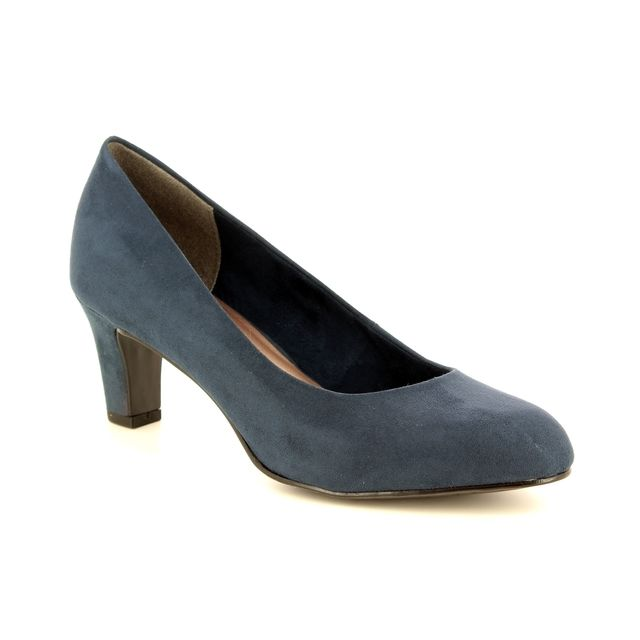 Tamaris Heeled Shoes - Navy - 22418/21/805 CAXIAS 85