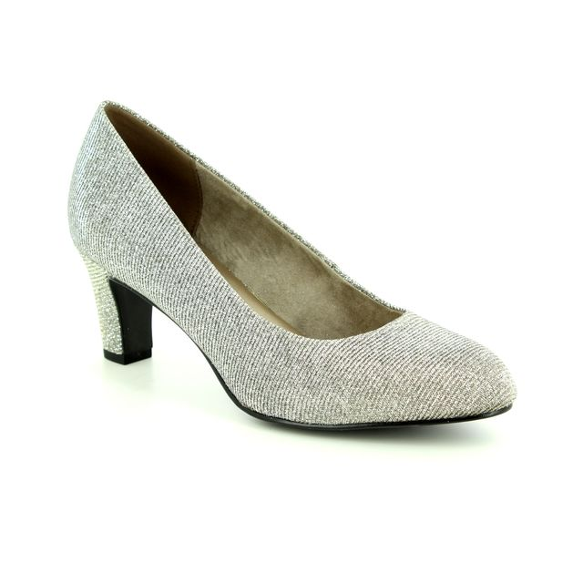 Tamaris Heeled Shoes - Silver Glitz - 22418/21/970 CAXIAS 85