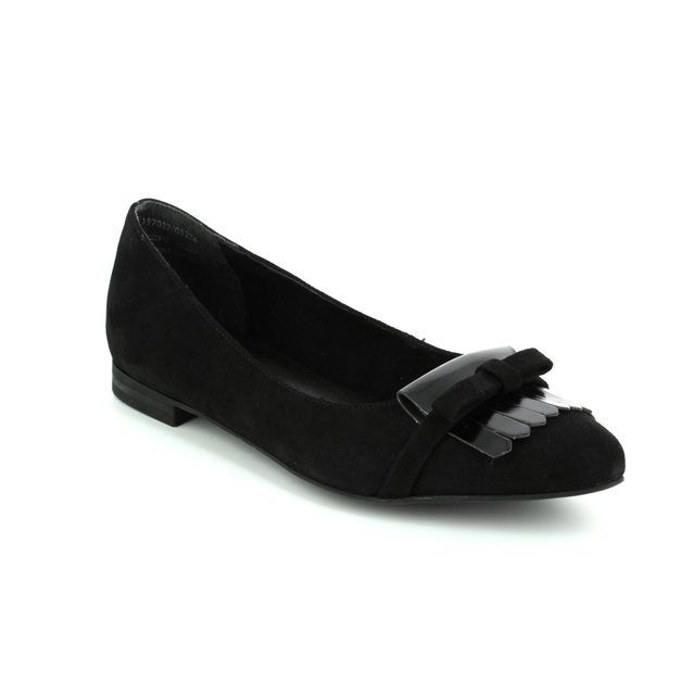 Tamaris Pumps - Black suede - 22100/001 CELIA