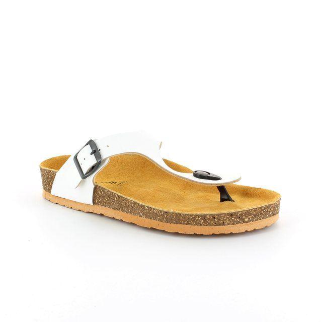Tamaris Charlene 27106-108 White sandals