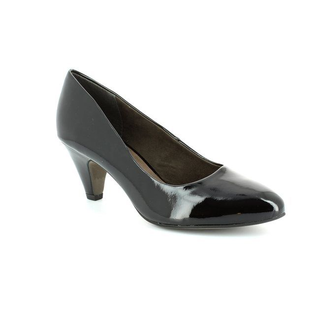 Tamaris High-heeled Shoes - Black patent - 22416/018 CRESSCO
