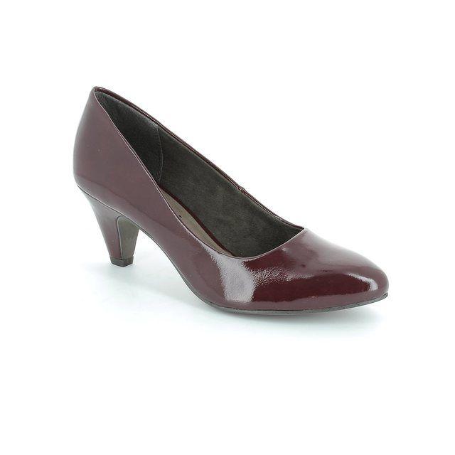 Tamaris Cressco 22416-580 Wine patent high-heeled shoes