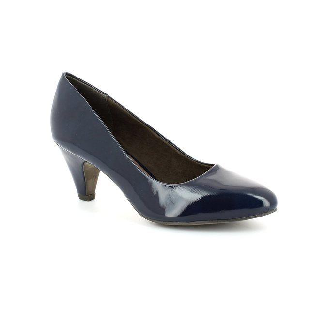 Tamaris High-heeled Shoes - Navy patent - 22416/826 CRESSCO