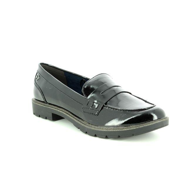 Tamaris Loafers - Black patent - 24600/21/018 CRISSY 85