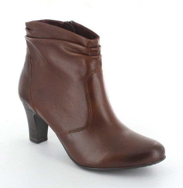 Tamaris Derry 25335-311 Tan ankle boots