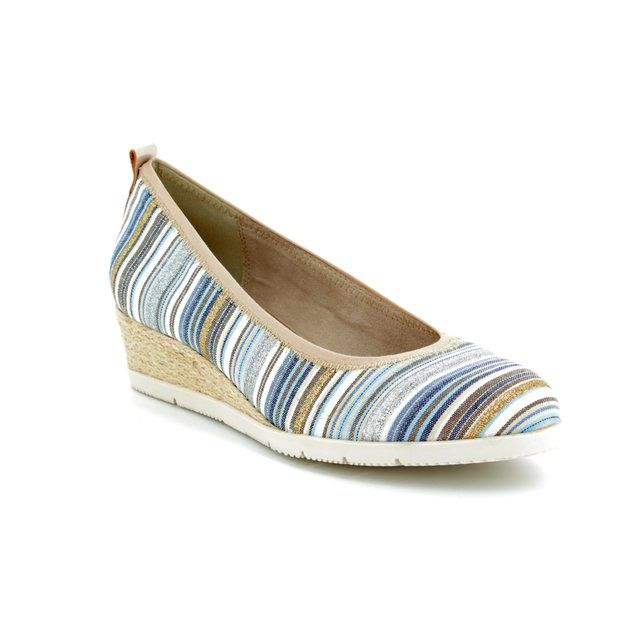 Tamaris Espadrilles - Blue multi - 22301/20/818 DILLIAN
