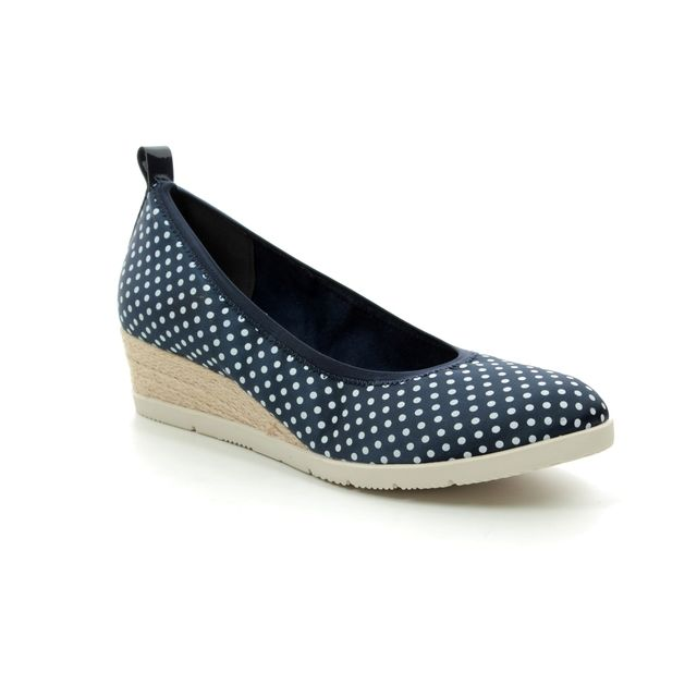 Tamaris Espadrilles - Navy Multi - 22381/22/888 DILLIAN 91