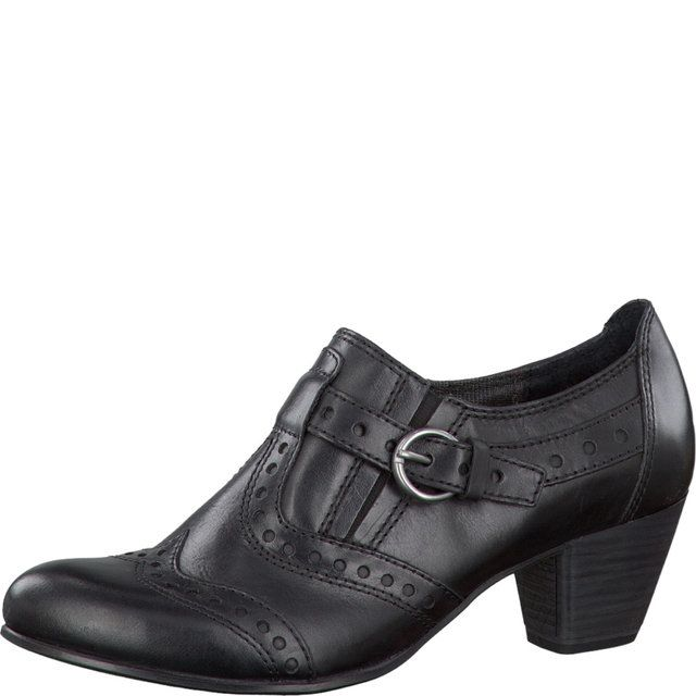 Tamaris Dolera 24402-001 Black lacing shoes