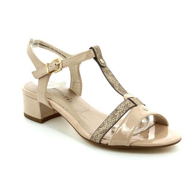 Tamaris Heeled Shoes - Taupe - 28220/451 EMILIA