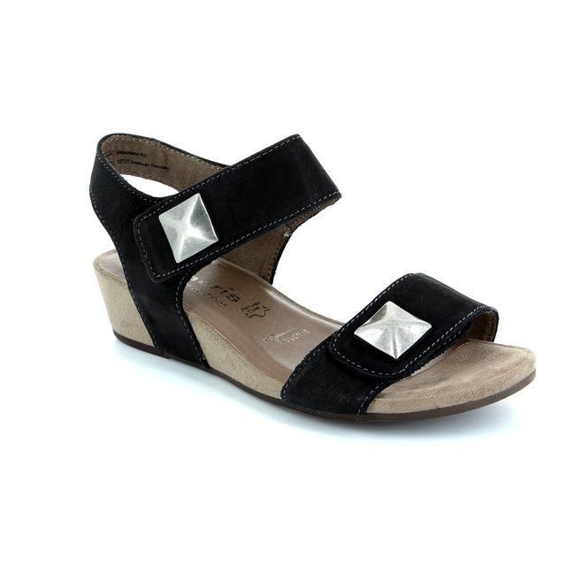 Tamaris Emilie 28201-001 Black sandals