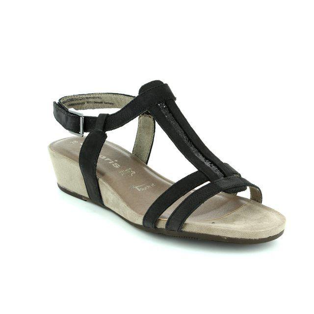 Tamaris Sandals - Black - 28209/001 EMILY 71
