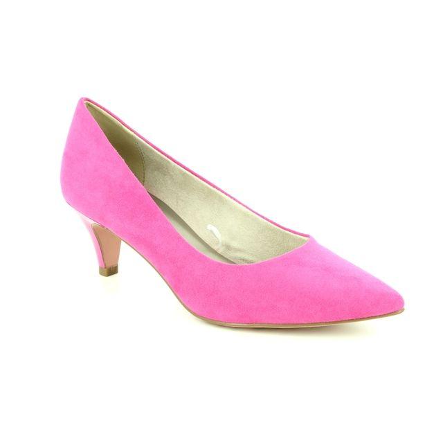 Tamaris Heeled Shoes - Fuchsia - 22415/22/513 FASTA
