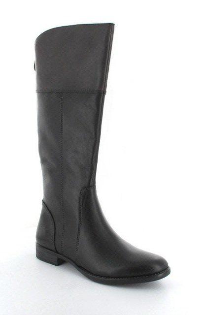 Tamaris Febie Slim Rid 25530-088 Black multi knee-high boots