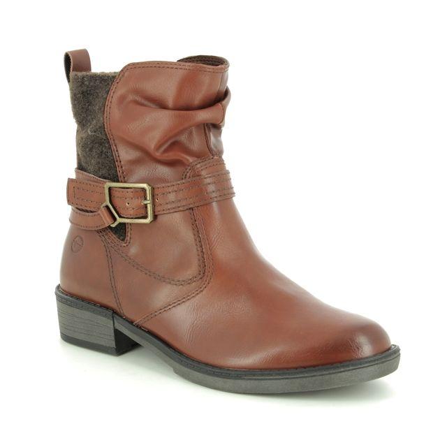 Tamaris Ankle Boots - Tan - 25411/23/305 HAYDENBUCK