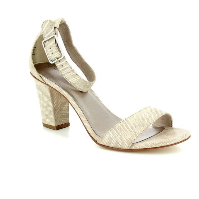 Tamaris Heeled Sandals - Ivory - 28397/20/454 HEITI