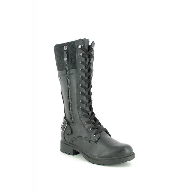 Tamaris Knee-high Boots - Black - 26608/23/098 HELILONG TEX