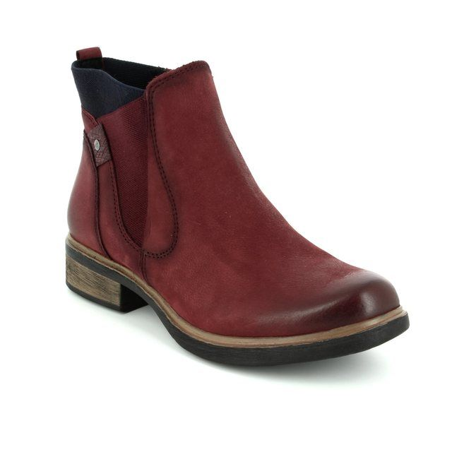 Tamaris Chelsea Boots - Dark Red - 25317/529 HELIOBAND