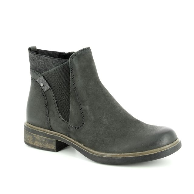 Tamaris Chelsea Boots - Khaki Leather - 25317/21/712 HELIOBAND 85