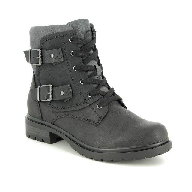 Tamaris Ankle Boots - Black - 25425/23/098 HELIOBUCK