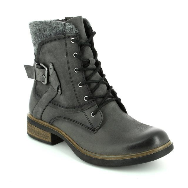 Tamaris Heliolace 25101-214 Grey ankle boots