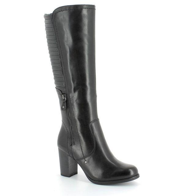 Tamaris Hermis 25550-007 Black knee-high boots
