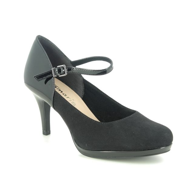 Tamaris High-heeled Shoes - Black - 24402/25/001 JESSA