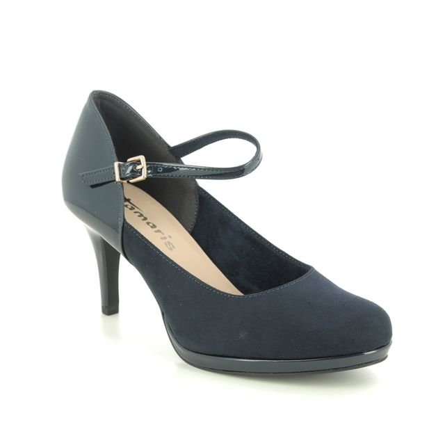 Tamaris High-heeled Shoes - Navy - 24402/25/805 JESSA