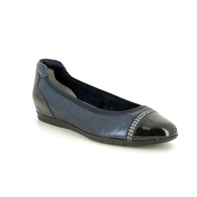 Tamaris Pumps - Navy patent - 22109/22/890 JOYA   91