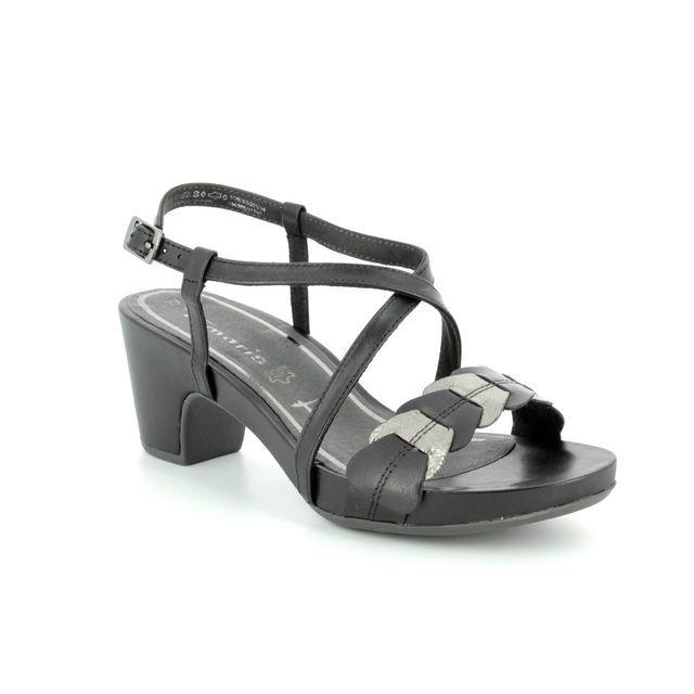 Tamaris Heeled Sandals - Black - 28393/20/054 JULES 81