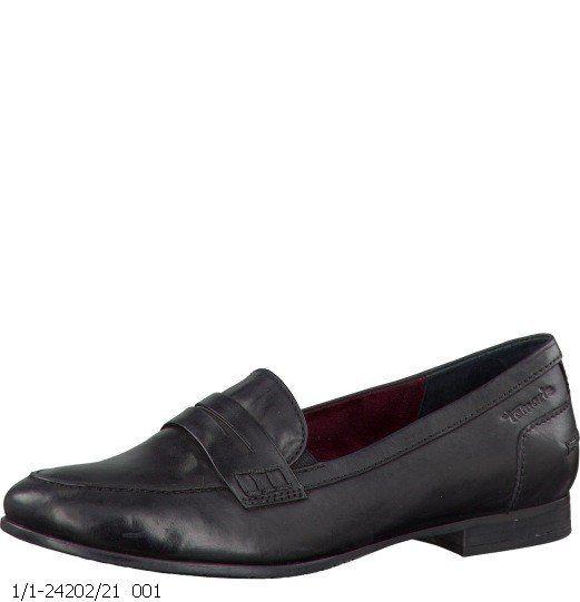 Tamaris Lab 24202-001 Black lacing shoes