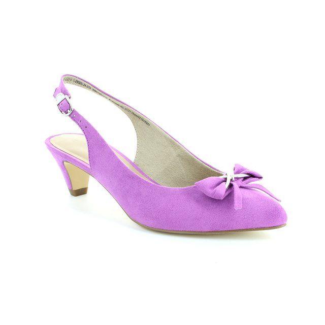Tamaris Lexis 29500-519 Purple high-heeled shoes