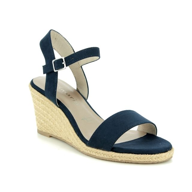 Tamaris Wedge Sandals - Navy - 28300/22/770 LIVIA  91