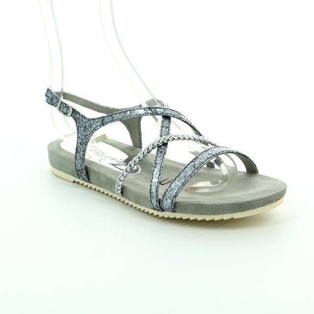 Tamaris Sandals - Silver - 28106/927 LOCUST