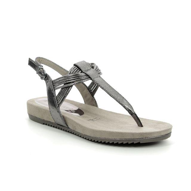Tamaris Flat Sandals - Metallic - 28107/22/915 LOCUSTI