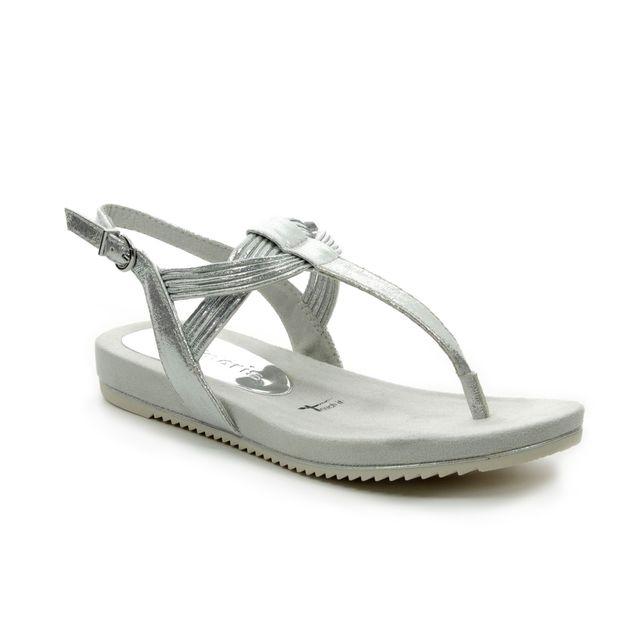 Tamaris Flat Sandals - Silver - 28107/22/941 LOCUSTI