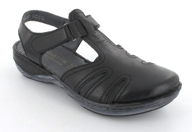 Tamaris Loop 27303-001 Black lacing shoes