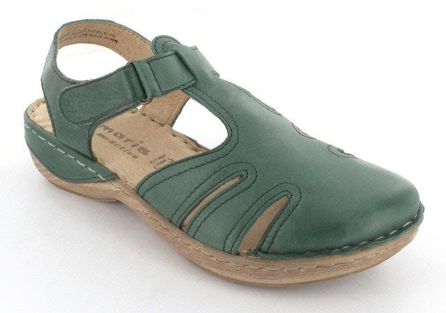 Tamaris Loop 27303-719 Green lacing shoes
